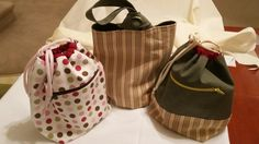 A few bags made for gifts for my knitting buddies.