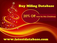 25% off now for this Christmas #italyemaildatabase Cupon Code :  la4232524 http://www.latestdatabase.com/italy-email-database/