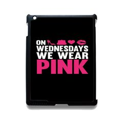 Pink On Wednesday 3 Phonecase Cover Case For Apple Ipad 2 Ipad 3 Ipad 4 Ipad Mini 2 Ipad Mini 3 Ipad Mini 4 Ipad Air Ipad Air 2