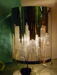 I found the perfect gift at Earth Angel Design for my sister-in-law Crystal. The home décor selection is extensive, I had a hard time choosing! This stunning lamp featuring a New York skyline will be a fabulous addition to her home.