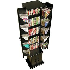 The Venture Horizon Media Storage Tower is one of our most successful products by any standard. The original Model 2030 is available in black, cherry and oak. All with a black interior. The Media Storage Tower has seven (7) shelves (3 adjustable) combined with 10 pocket shelves in the doors that... more details available at https://furniture.bestselleroutlets.com/game-recreation-room-furniture/tv-media-furniture/media-storage/product-review-for-venture-horizon-media-storage-t