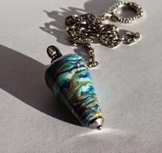 Pendel, Glasperlen, lampwork, glassbeads