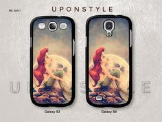 Samsung Galaxy S4 case, Galaxy S3 case, Ariel The Little Mermaid