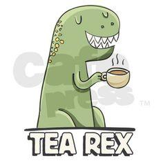 Tea Rex Mug on CafePress.com