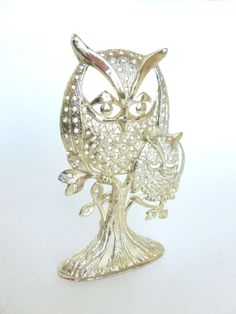 Vintage Torino Mod Owls Earring Rack Stand Holder Tree by BornAtTheWrongTime, $15.00