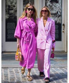 Ροζ Street Style