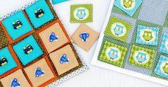 Aprenda como fazer um criativo Jogo da Velha em tecido