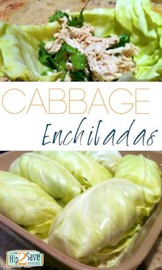 Cabbage Enchiladas. #glutenfree #paleo http://hip2save.com/2012/04/25/simple-cabbage-enchiladas-recipe/
