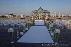 nunta pe plaja www.carmenevents.ro Table Decorations, Future, Wedding, Valentines Day Weddings, Future Tense, Weddings, Marriage, Mariage