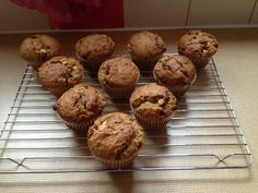 1st Dec 2013. Wholemeal, Chia, white chocolate and cranberry homemade muffins. 256 calories.