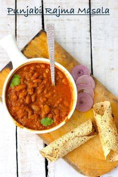 Punjabi rajma red kidney beans curry in a rich tomato sauce punjabi style rajma chawal tomato gravyindian food recipesnorth forumfinder Gallery