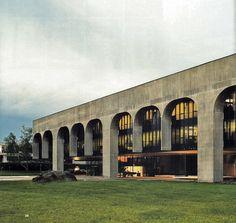 FATA headquarters | 1975 | Turin, Italy | Oscar Niemeyer