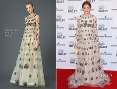 Olivia Palermo In Valentino – New York City Ballet 2015 Spring Gala model look great.The right one seems too puffy,is she pregnant??