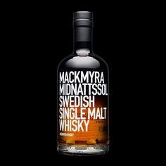 Mackmyra Midnattsol by Stockholm Design Lab #packaging #unique #creative #design #branding #marketing #JablonskiMarketing #inspiration