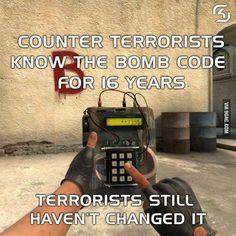 Counter Strike logic... - 9GAG