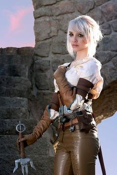 cosplayheaven69:  Heroes of Cosplay: Lyz Brickley as Ciri from The Witcher (Carlos G Photography).