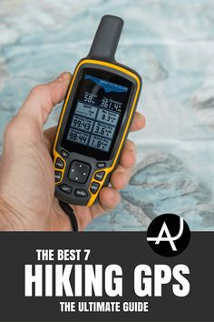Top 7 Best GPS For Hiking – Best Hiking Gear and Accessories - Hiking Tips For Beginners – Backpacking Tips and Tricks for Women and Men Best Hiking Gear, Backpacking Gear, Camping And Hiking, Camping Gear, Camping Hacks, Camping Gadgets, Camping Supplies, Hiking Trails, Camping Guide