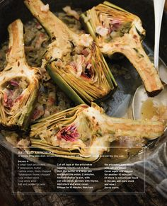 Sauteed Artichokes... I've been looking for different ways to use these!