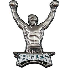 Philadelphia Eagles Rocky Pin. Even I think this is ridiculous.