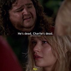 i don't actually think that's what she said or if she said anything #lost #lostshow #lostseries #losttvshow #lostseries #hurley #hugoreyes #clairelittleton #jorgegarcia #emiliederavin #oceanic815 #flight815 #charliepace @pronouncedhorhay @emiliede_ravin -jess