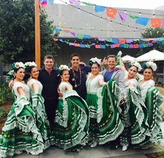 Performing at Burbank Studios and met these handsome actors from Days of our Lives!  Ballet de Sally Savedra!  A Rich, Dynamic Mexican Folklorico and Classical Spanish Dance Company! Available for classes, events, and performances http://balletdesallysaved.wix.com/bdsallysavedra