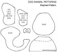 Free! Heather Bailey Patterns   Free Elephant Pattern