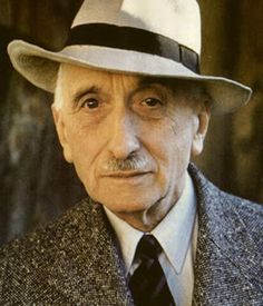 François Mauriac, French writer and Nobel laureate