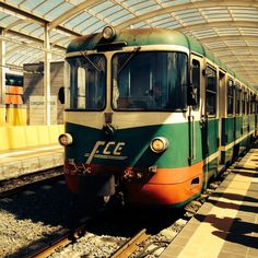 The Ferrovia Circumetnea, Mount Etna, Sicily