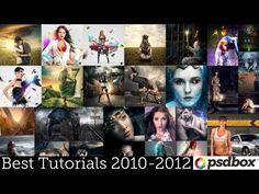 2010-2012 Best Photoshop Tutorials Recap - PSD Box