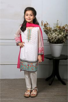ce4522b39 Maria B Fancy Kids Dresses Designs 2018-19 Collection for Girls ...