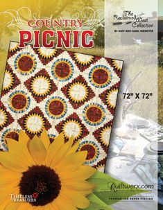 I quilted this too! Ditto on Lisa McCarthy's piecing.