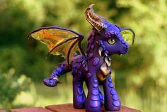 Purple Dragon by BarbedDragon by ~BarbedDragon on deviantART