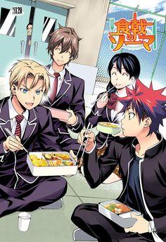 Takumi, Isshiki (7th Seat), Megumi, Soma