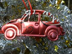 DrPepper+vw+Recycled+Soda+Can+Christmas+ornament+by+ColoradoCarla,+$8.88