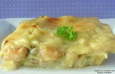 Dans la cuisine de Blanc-manger: Lasagne aux fruits de mer