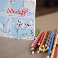 lillestoff malbuch meets GrinseStern ...