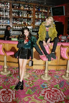 Girls in cool clothes Rock Style, My Style, Tilda Lindstam, Mode Punk, Estilo Grunge, Pin Up, Mini Robes, Ellen Von Unwerth, Fall Lookbook