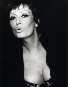 Sophia Loren by Greg Gorman, 2002
