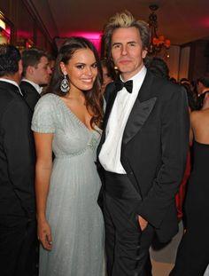 John Taylor (Duran Duran) and daughter Atlanta. Gorgeous Dad and Daughter.