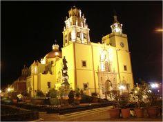 Basílica de Nuestra Señora de Guanajuato-------fotos de iglesias y catedrales de méxico