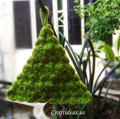 Artesanía de Navidad Ideas: Tutorial Árbol de Navidad - ✭Teresa Restegui http://www.pinterest.com/teretegui/ ✭
