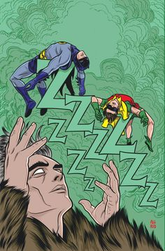 BATMAN '66 #5  Written by JEFF PARKER  Art by RUBEN PROCOPIO and COLLEEN COOVER  Cover by MICHAEL ALLRED  On sale NOVEMBER 20 • 40 pg, FC, $3.99 US • RATED E • DIGITAL FIRST  Are the Caped Crusader and the Boy Wonder asleep on the job? No, they are under the spell of that sinister somnambulist, the Sandman. (No, not THAT one!) Is it bedtime for all of Gotham City? Will the Dynamic Duo wake up in time to put out his lights?