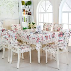 Exceptionnel Find More Tablecloths Information About Red Rose Flower Table Cloth 13pcs 6  Chair Cover+1