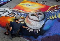 Фестиваль уличного рисунка «Lake Worth Street Painting Festival»