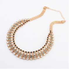 BIJOUTERIE NEKCLACE WOMEN ALLOY CHUNKY CHAIN NECKLACE FAMOUS BRAND BIG FALSE COLLAR NECKLACE CHEAP COSTUME JEWELRY SPRING 2014