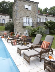 Marie Galante Outdoor Collection - GRANGE Furniture