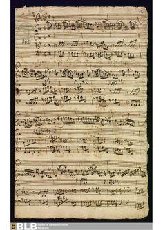 Concerto en Sol maior (MWV 6.40) para clarinete en Re, cordas, 2 oboes e continuo. Composto por Johann Melchior Molter entre 1745 e 1765.