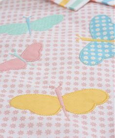 Mothercare Butterfly Fields Cot Bumper
