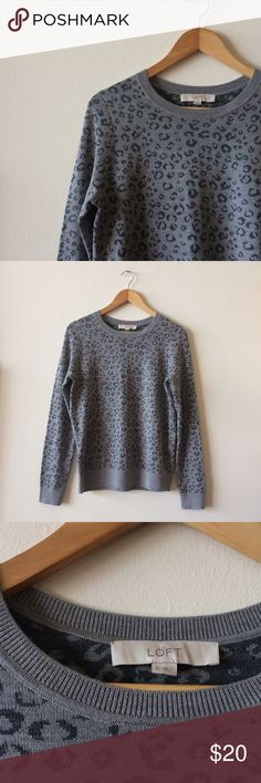 Ann Taylor Loft Sweater LOFT Pullover Knit Sweater in excellent condition. LOFT Sweaters