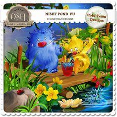 "Night Pond "" by Gold Team"